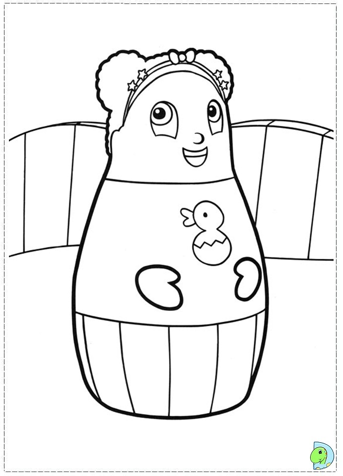 Higglytown Heroes Coloring Page