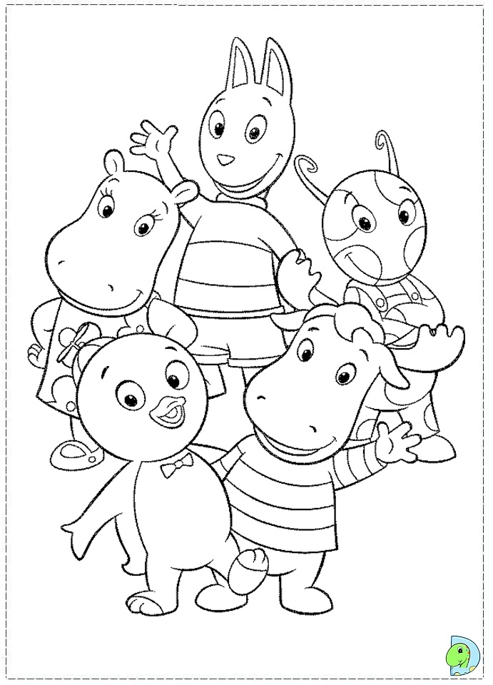the backyardigans coloring pages video search engine at