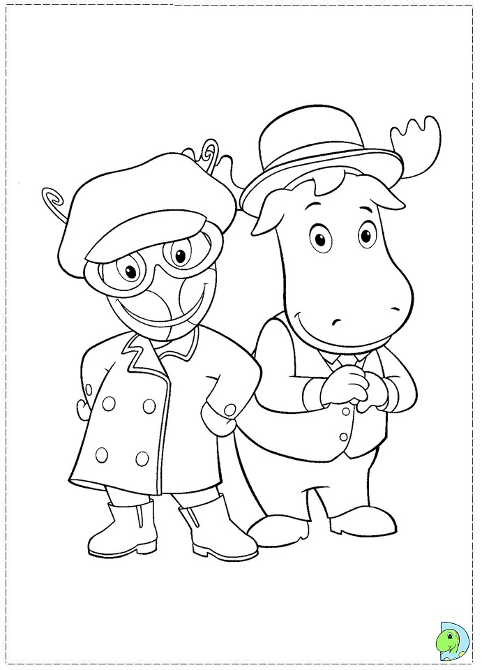 Nick Jr Coloring Pages Pdf : Backyardigans nick jr coloring pages