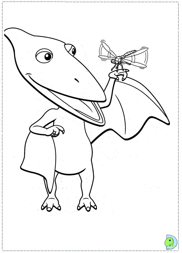 Dinosaur Train Coloring Page DinoKidsorg