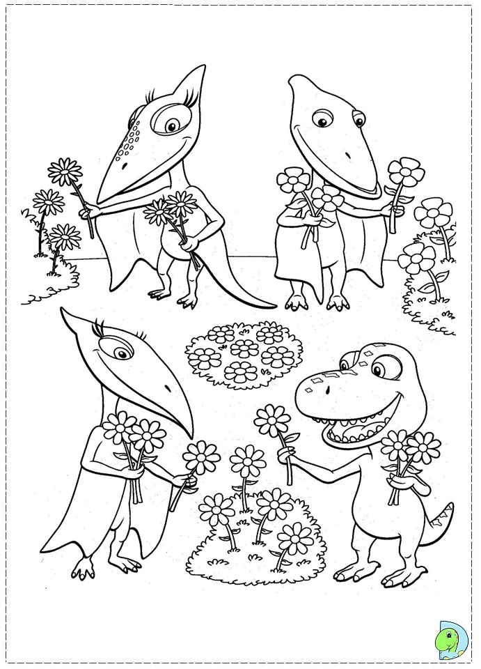 dinosaur train coloring pages dongs - photo#32