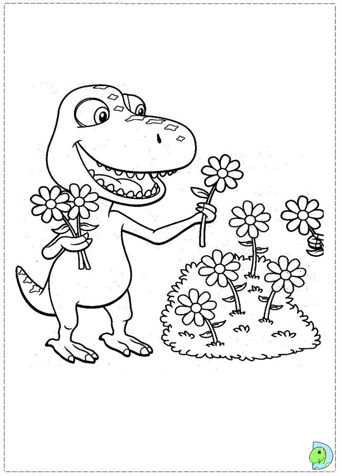 dinosaur train coloring pages dongs - photo#19