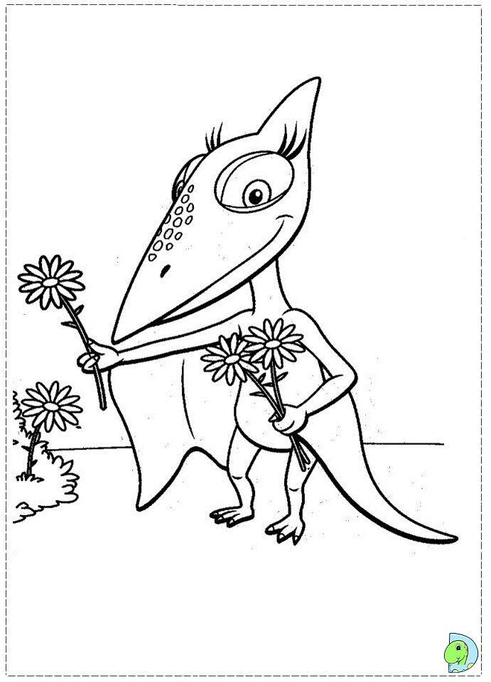 dinosaur train coloring pages dongs - photo#13