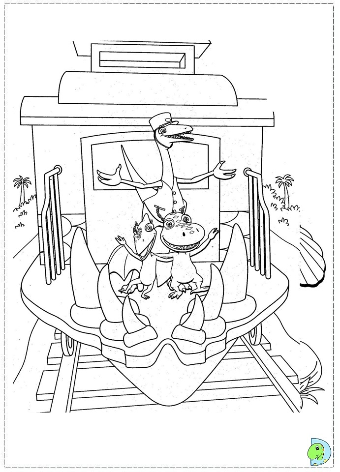 Dinosaur Train coloring page- DinoKids.org