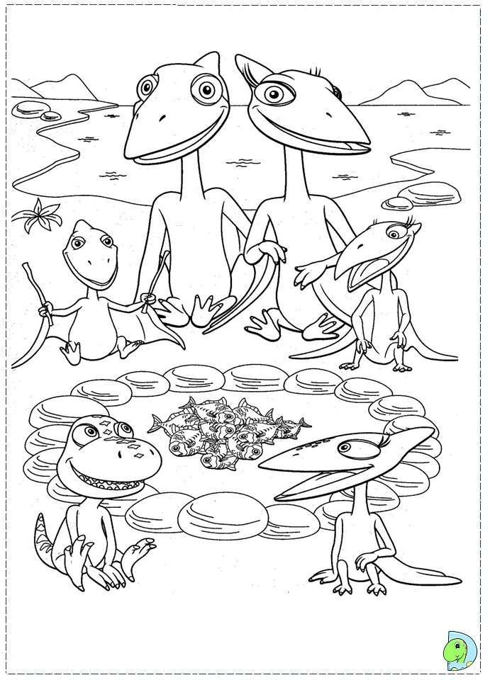 dinosaur train coloring pages dongs - photo#2