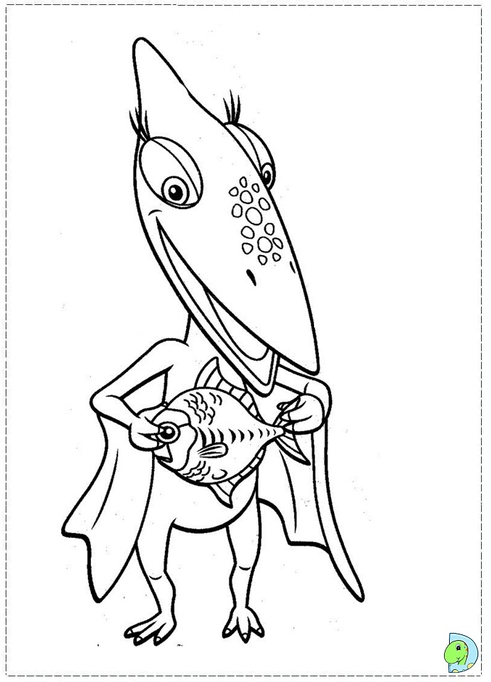 dinosaur train coloring pages dongs - photo#25
