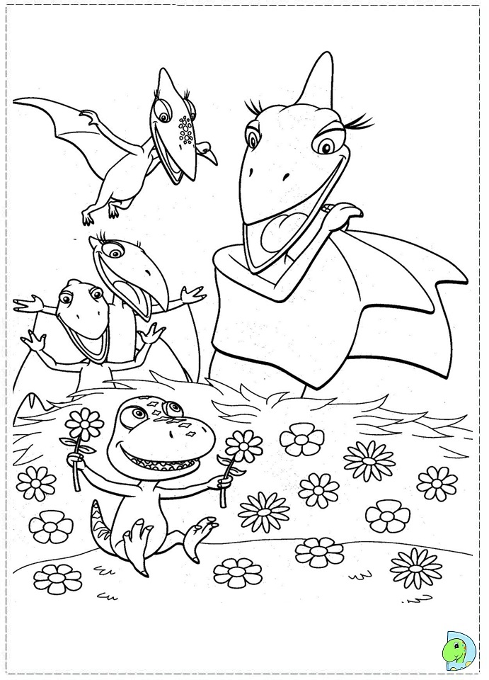 dinosaur train coloring pages dongs - photo#6