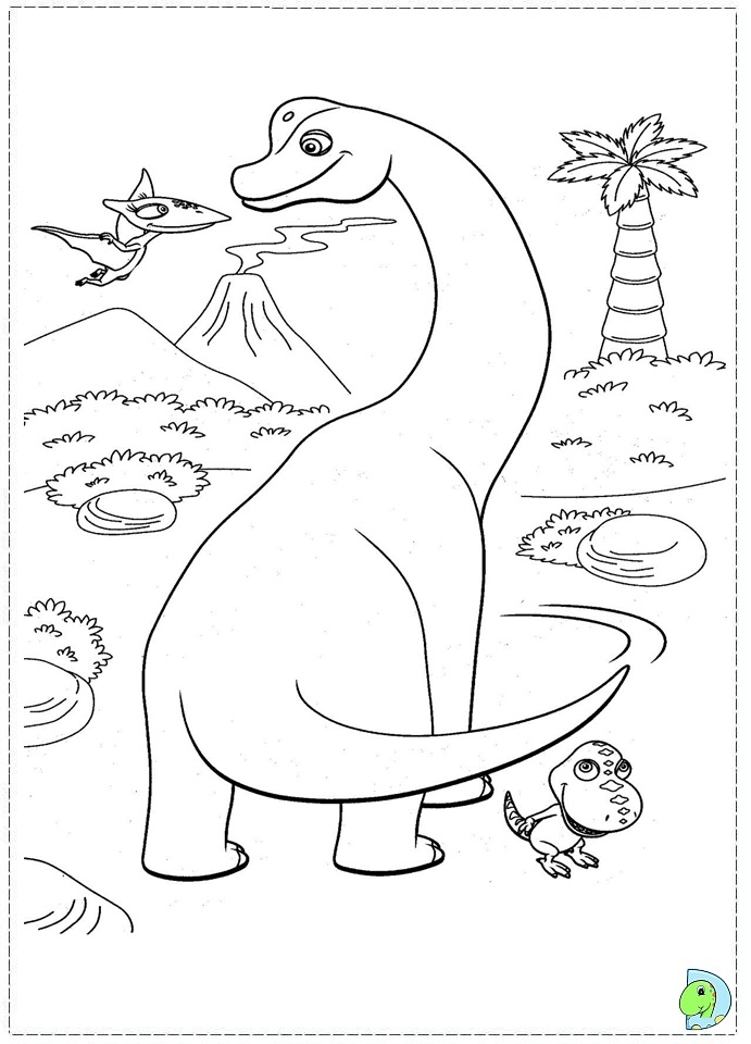 buddy dinosaur train coloring pages - photo#20