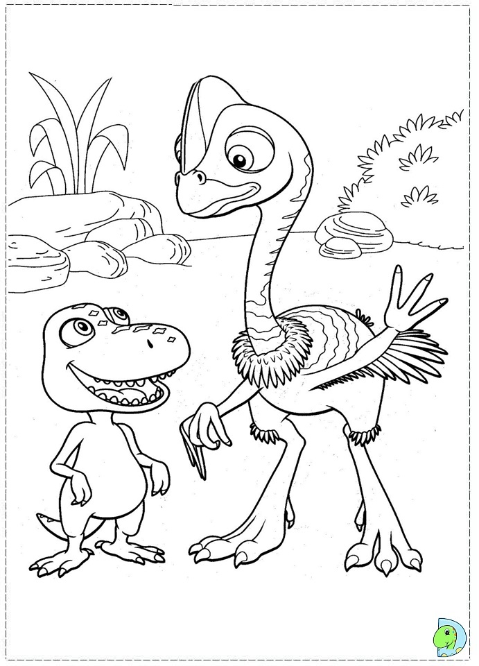 dinosaur train coloring pages dongs - photo#15