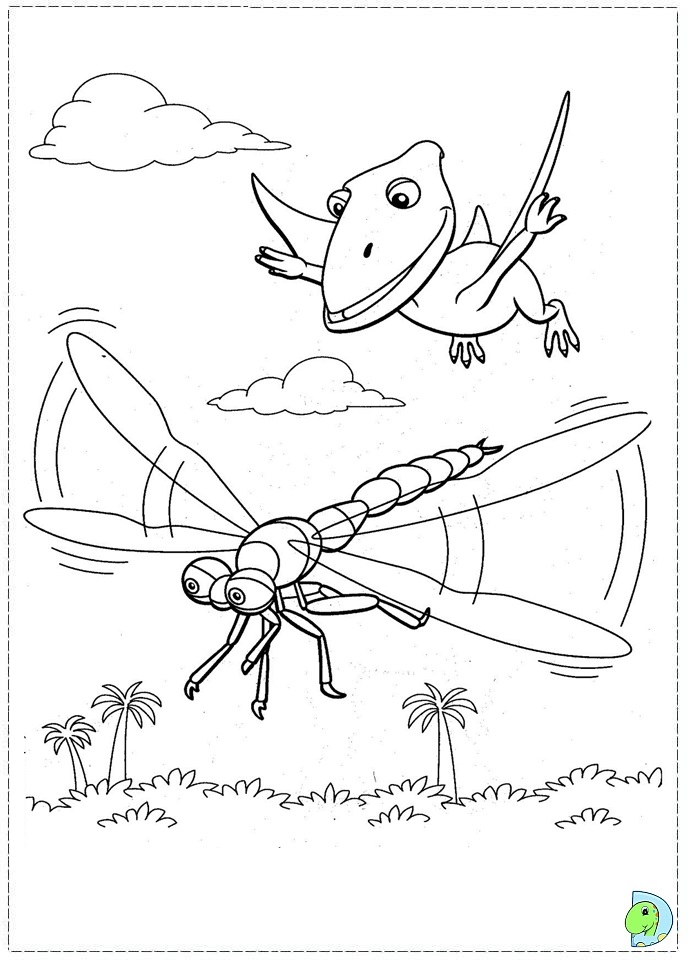 dinosaur train coloring pages dongs - photo#16