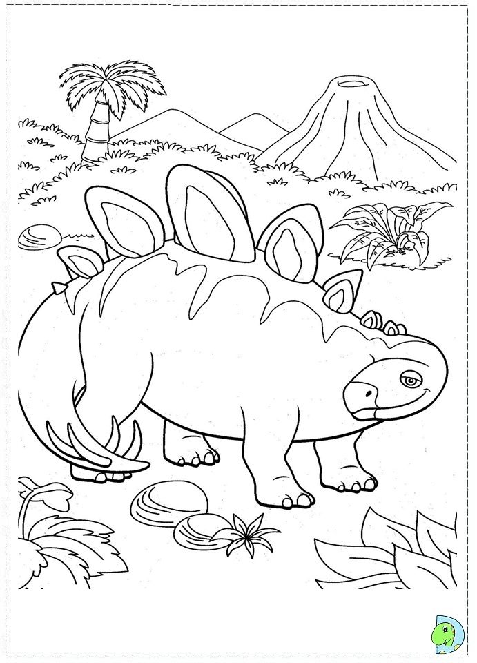 dinosaur train coloring pages dongs - photo#33
