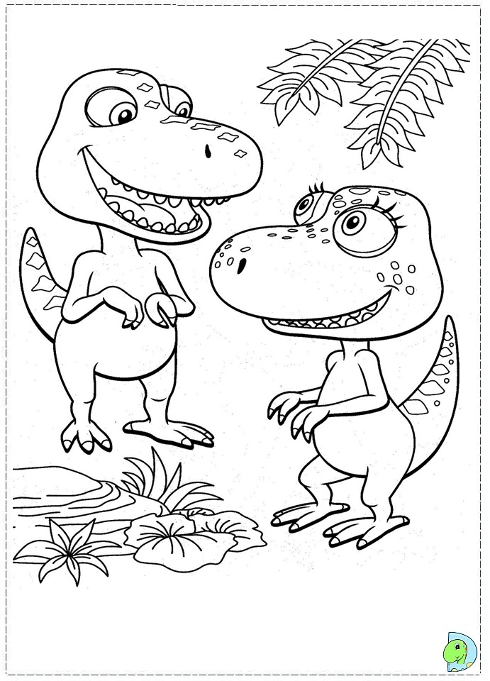 dinosaur train coloring pages dongs - photo#18
