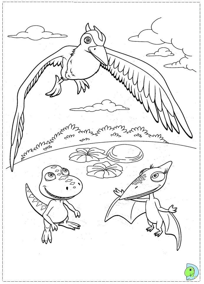 ColorMeCrazyorg Dinosaur Train Coloring Pages