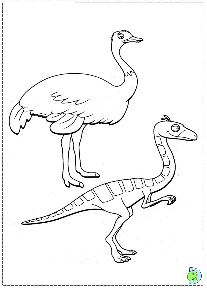 Dino train Coloring page- DinoKids.org