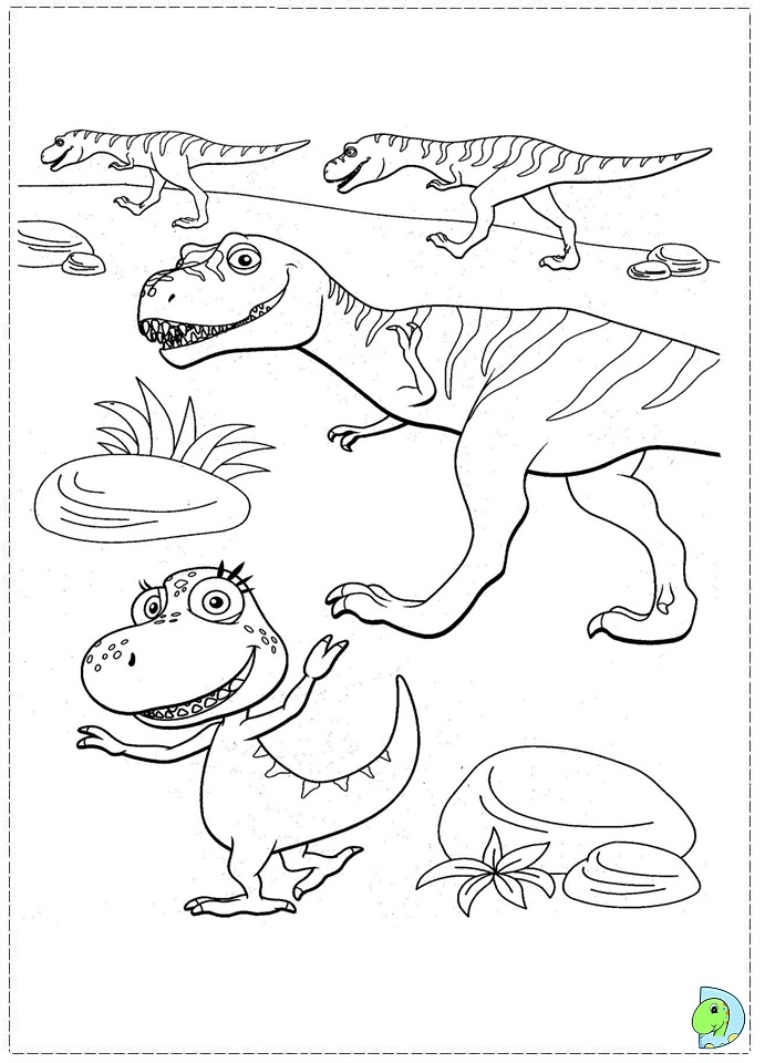 dinosaur train coloring pages dongs - photo#8
