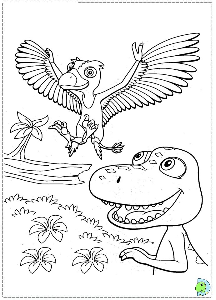 dinosaur train coloring pages dongs - photo#36