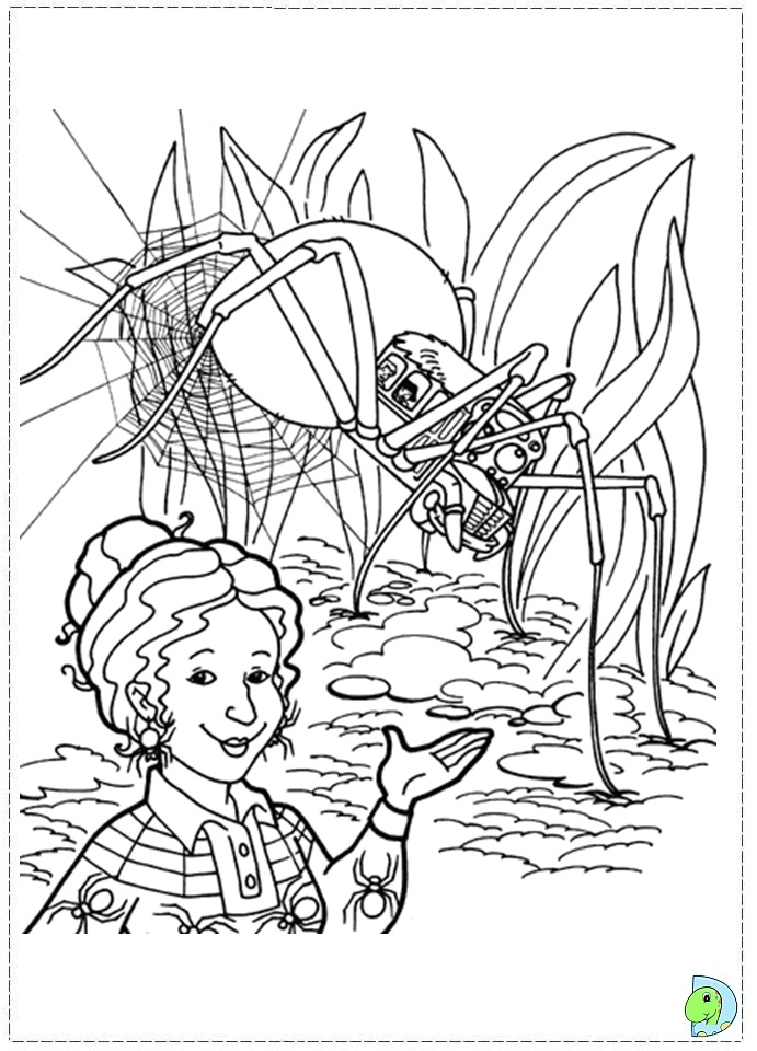 Magic School Bus Drawing The Magic School Bus Coloring
