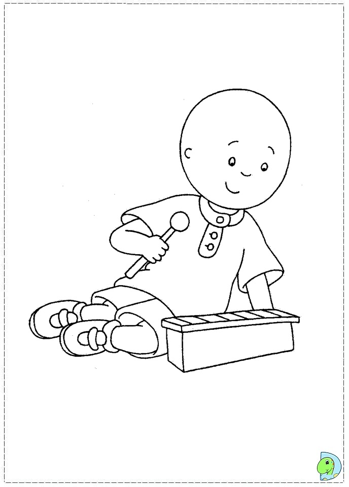 caillou coloring pages gilbert - photo#44