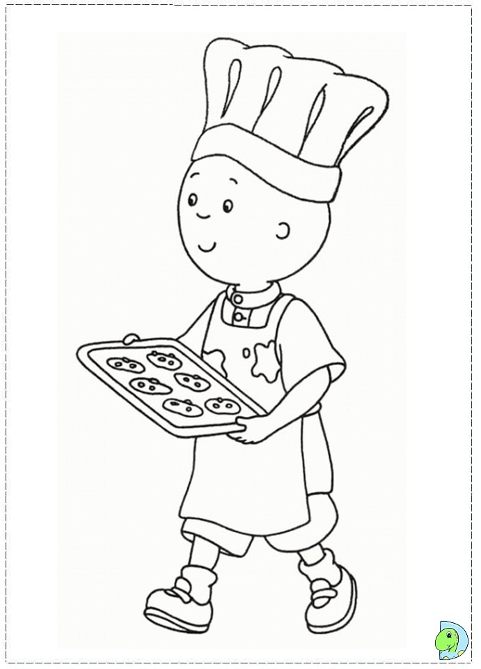 caillou coloring pages gilbert - photo#41