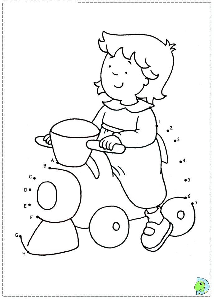 Caillou Rosie Coloring Pages information: keywords and pictures