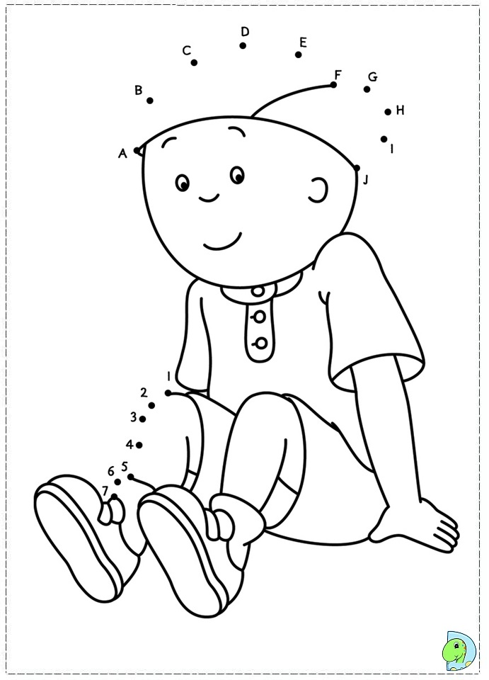 caillou coloring pages gilbert - photo#15