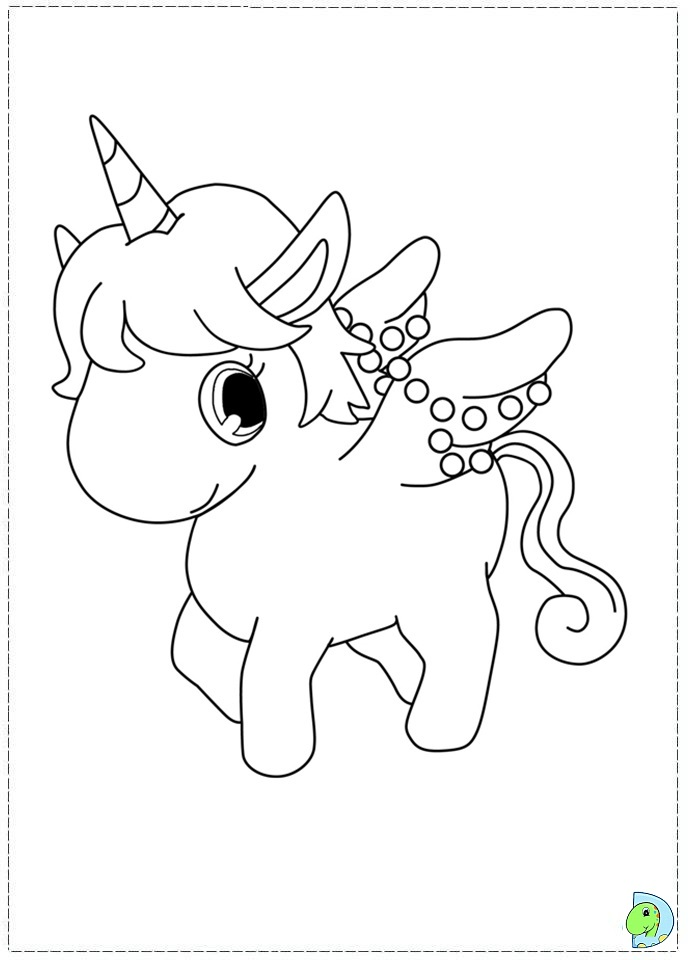 Jewelpet Coloring Page Dinokids Org
