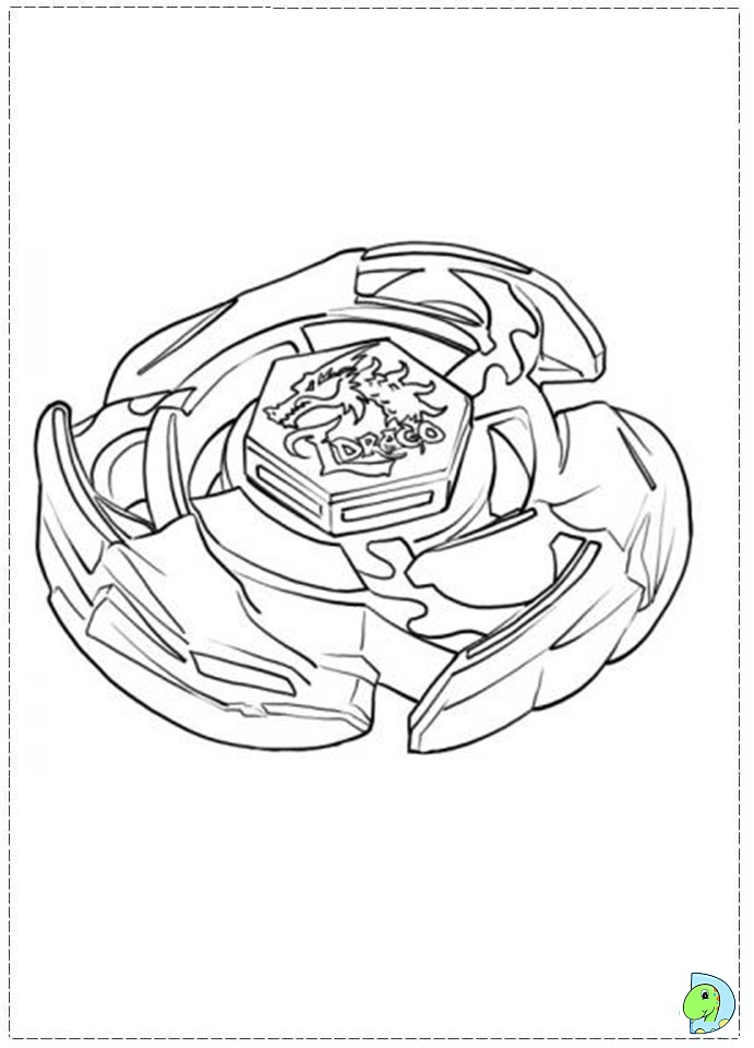 Bey Blades Free Coloring Pages