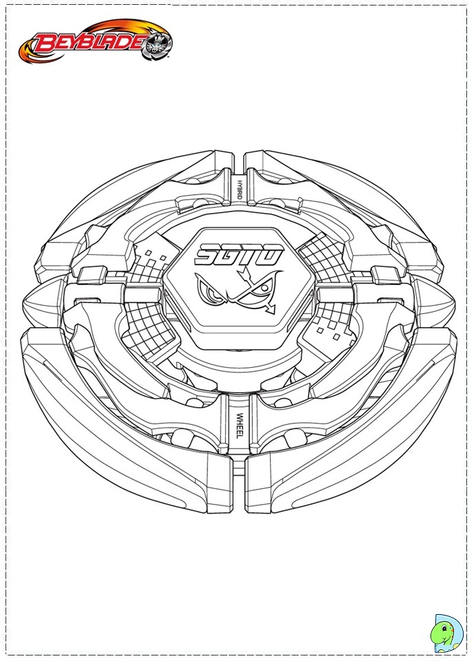 beyblades pegasus coloring pages - photo#28