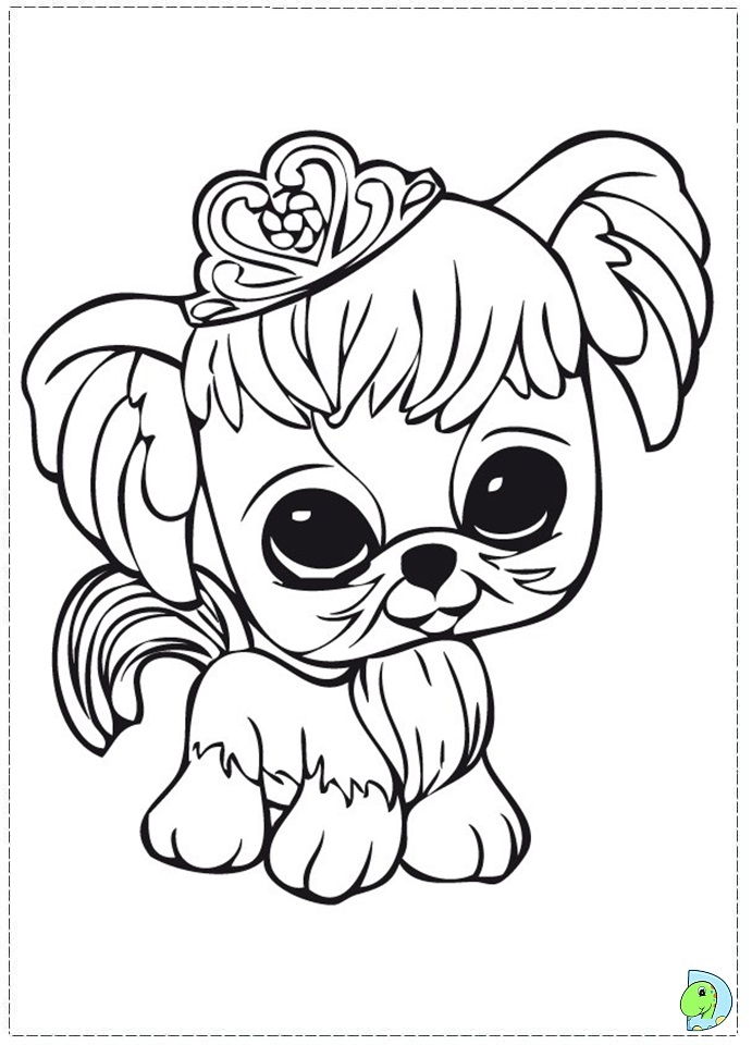 lps dog coloring pages - photo#11