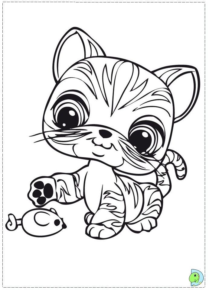Littlest Pet Shop Coloring Page