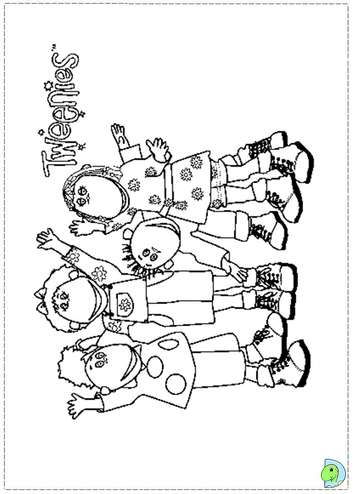 Dorable Doodlebops Coloring Pages Adornment