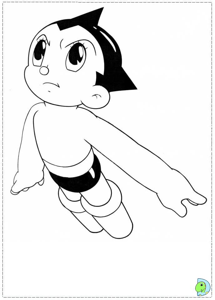 astro boy coloring pages - photo#12