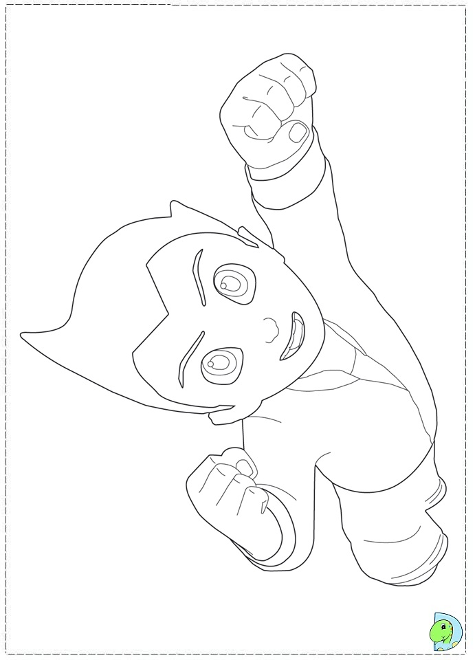 astro boy coloring pages - photo#21
