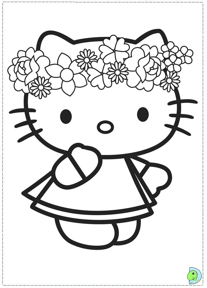 Hello Kitty Pictures To Print Hello Kitty Coloring p...