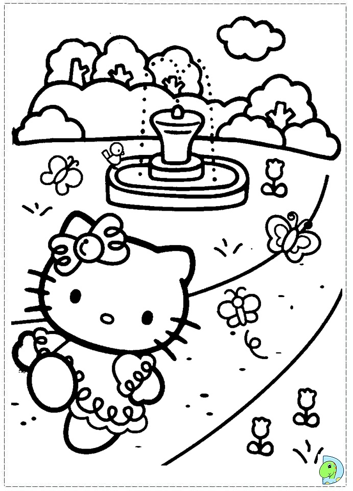 Hello Kitty Nerd Coloring Pages Printable : Free nerdy hello kitty coloring pages