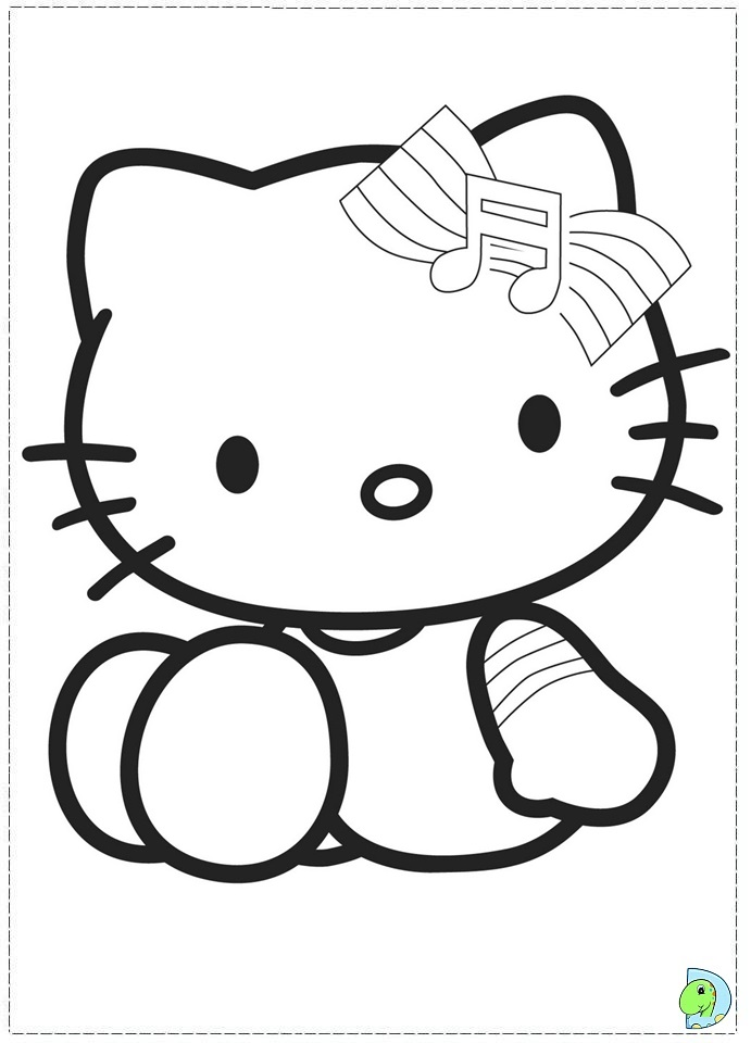 Images Of I Love Nerds Hello Kitty Coloring Pages