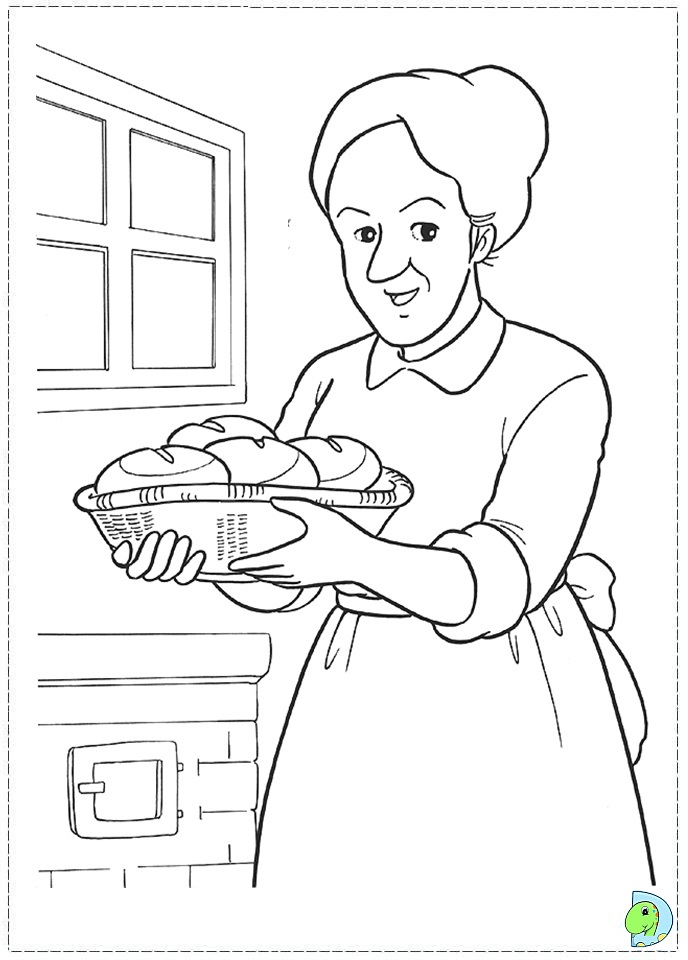 sarah and duck coloring pages - photo#16