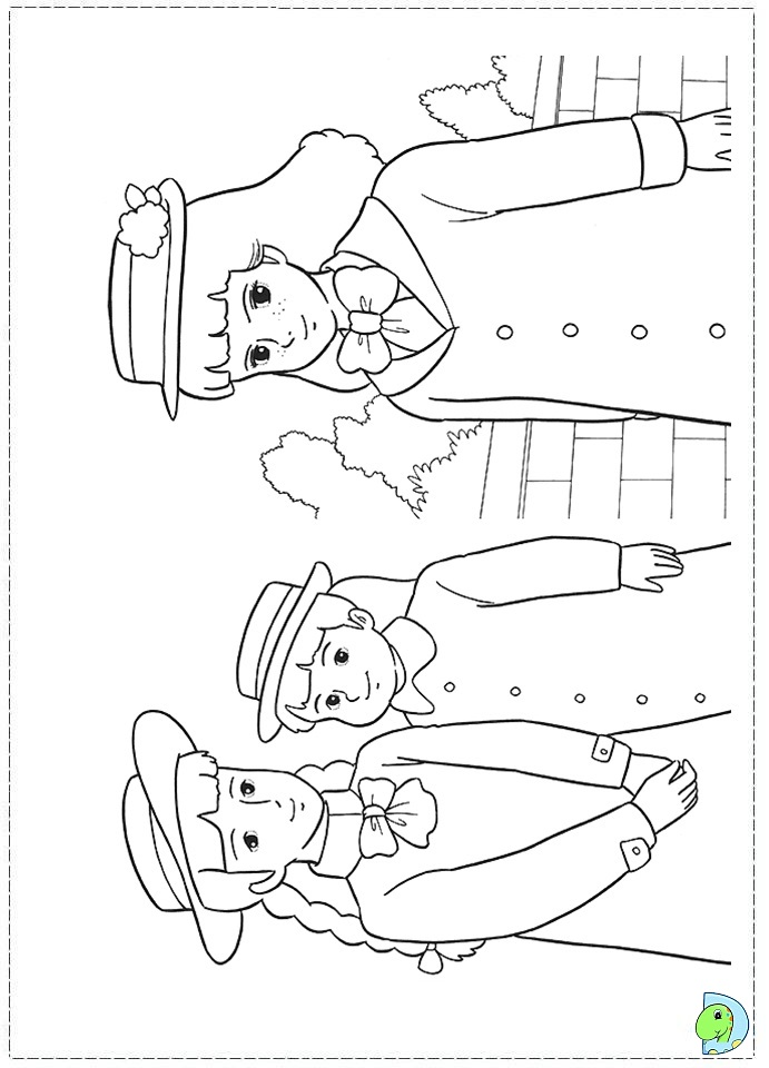 sarah and duck coloring pages - photo#7