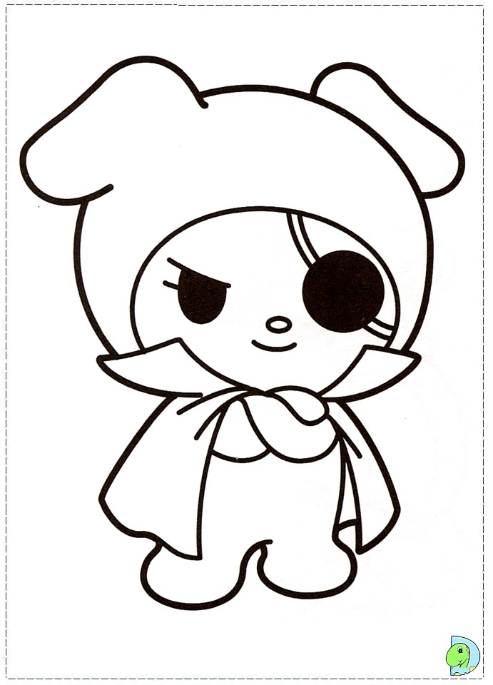Coloring Pages Mymelody | New Calendar Template Site
