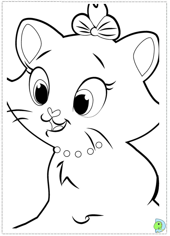 marie the cat coloring pages - photo#21