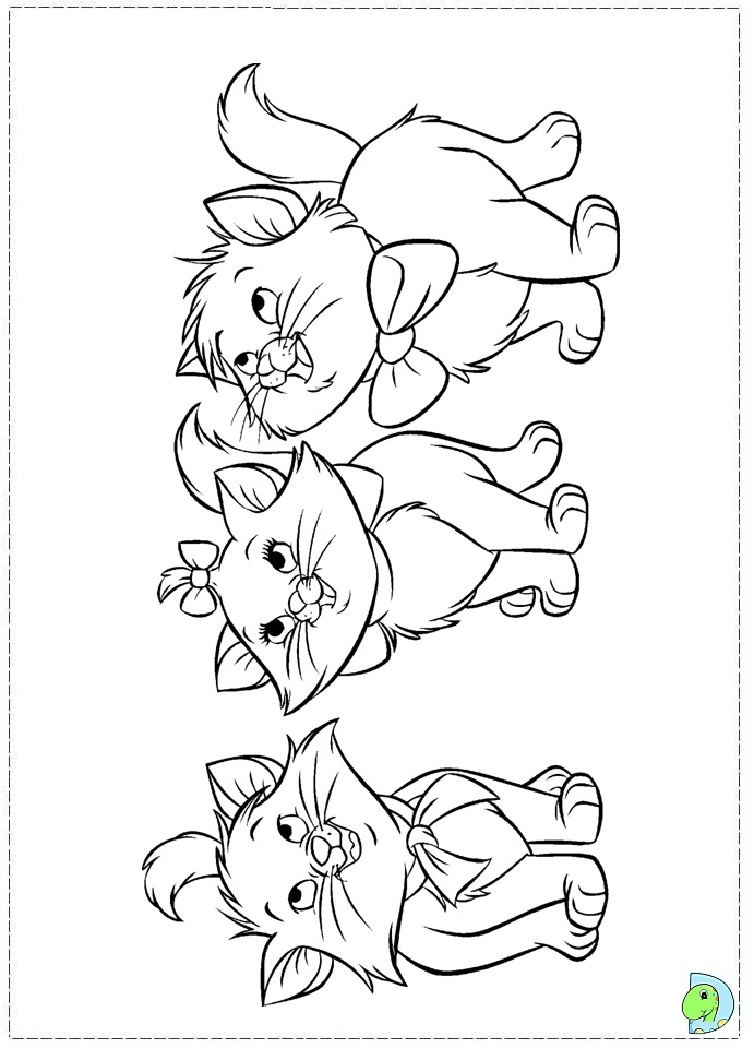 marie the cat coloring pages - photo#14