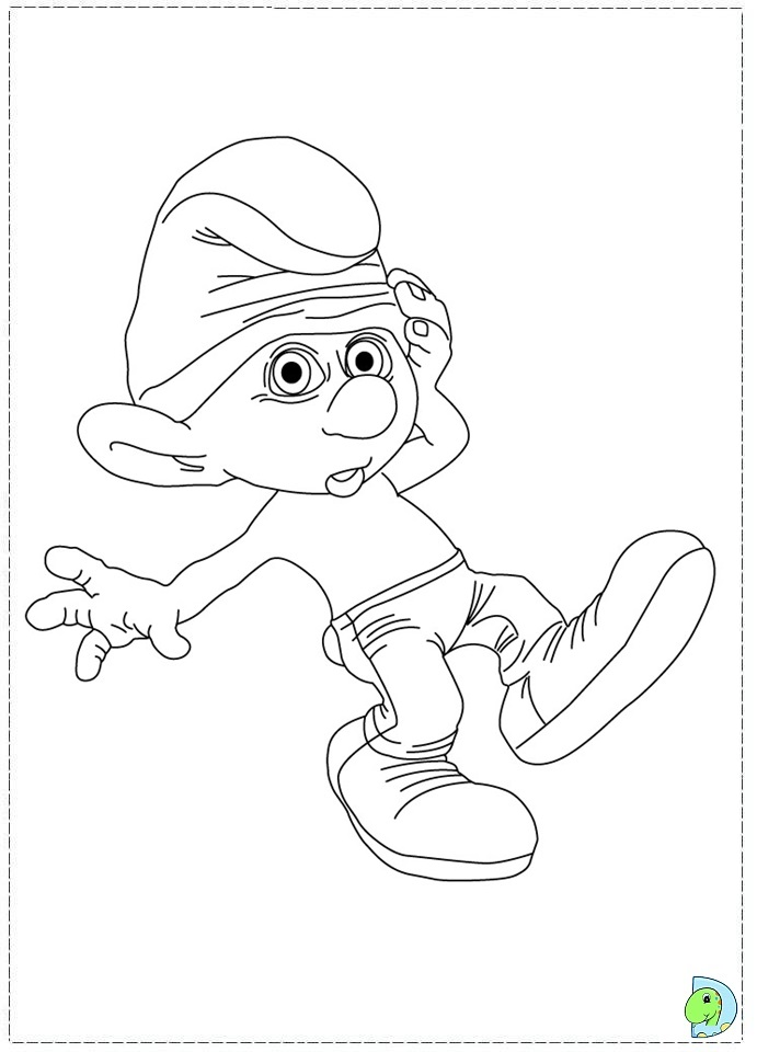 Free Smurfs Coloring Sheets, Download Free Clip Art, Free Clip Art ... | 960x691