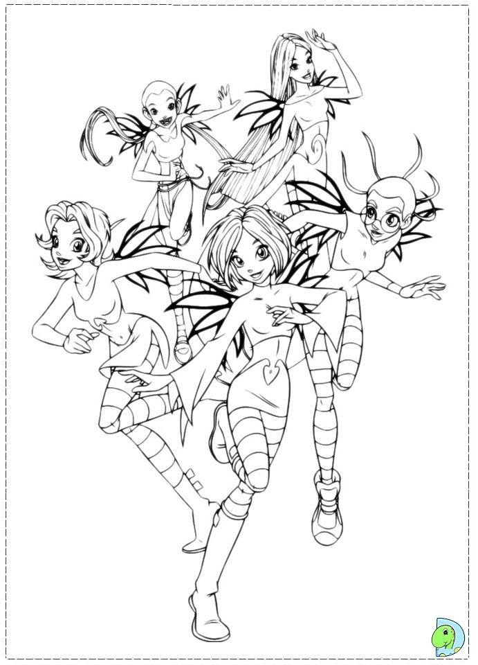 witch coloring page dinokidsorg