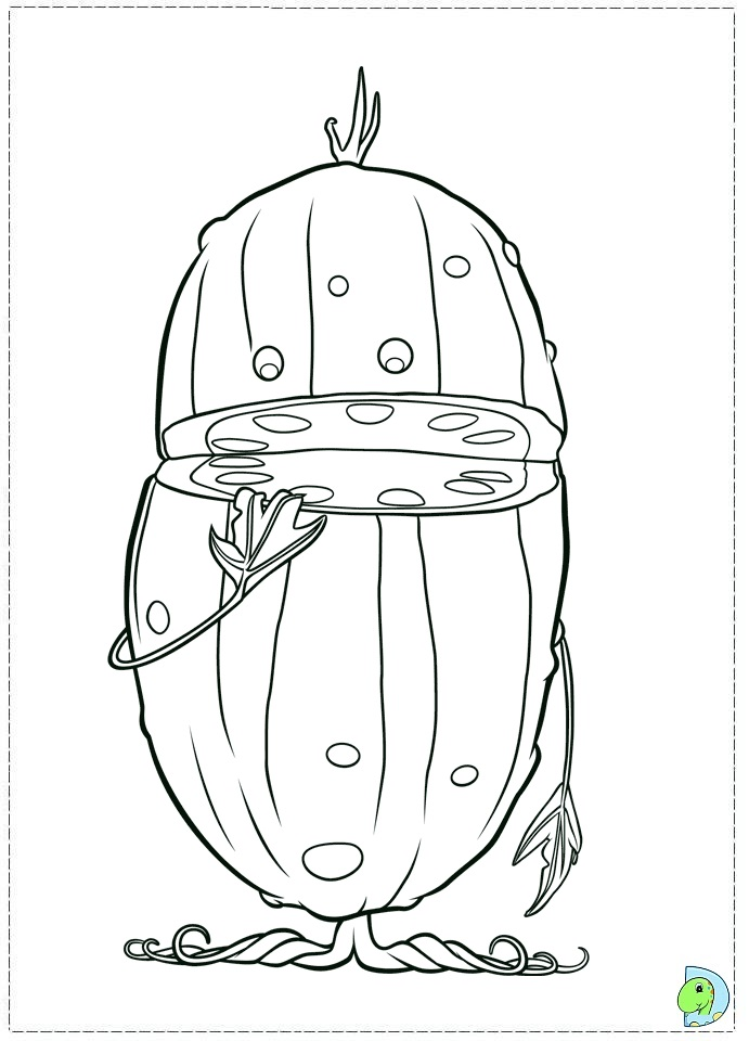 Cloudy with a chance of meatballs 2 coloring page- DinoKids.org