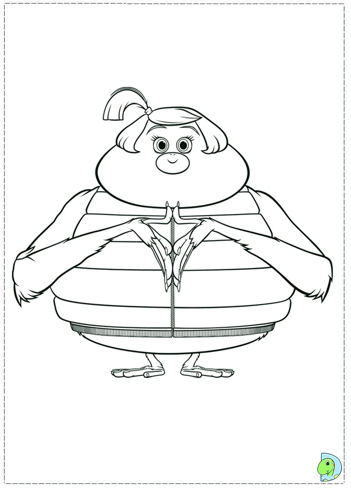 Cloudy With A Chance Of Meatballs 2 Coloring Page Dinokidsorg