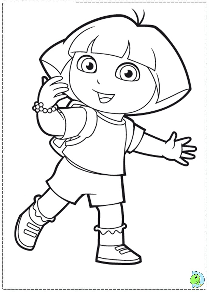 Coloring Books Near Me Dora Colouring Pages