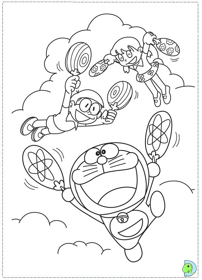 Doraemon coloring page for Doraemon da colorare