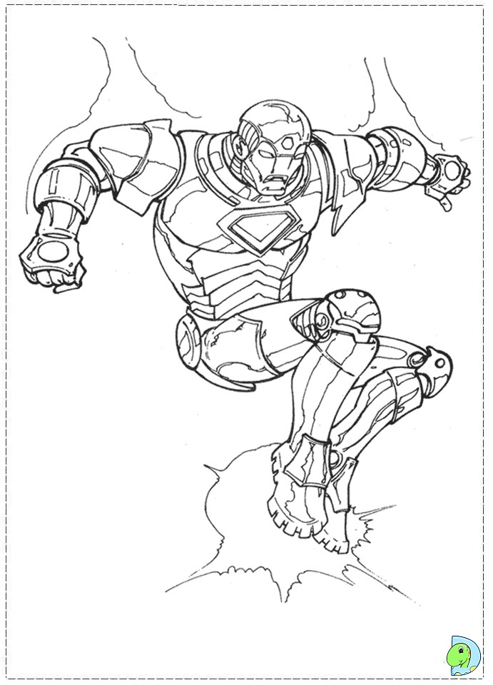 iron rod coloring pages - photo#2
