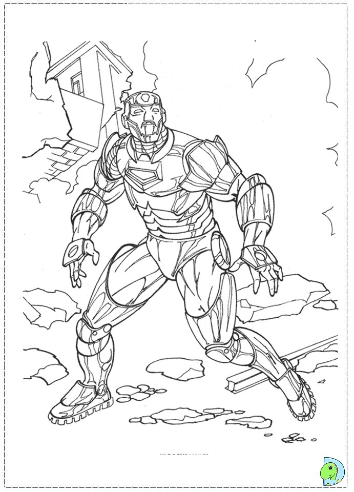iron rod coloring pages - photo#4