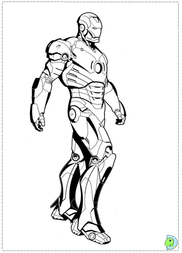 iron rod coloring pages - photo#3